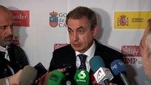 """Zapatero se muestra """"optimista"""" con la investidura de Sánchez y el """"Gobierno de cooperación"""""""