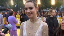 Lily James on working with Himesh Patel