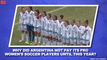 World Cup Daily: Players Fight For Professional Status, Payment in Argentina