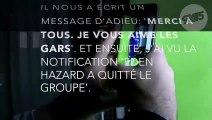 Le dernier message d'Eden Hazard sur le groupe Whatsapp des joueurs de Chelsea