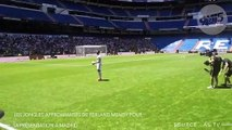 Les jongles approximatifs de Ferland Mendy pour sa présentation à Madrid AJB