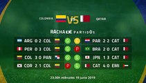 Previa partido entre Colombia y Qatar Jornada 2 Copa América