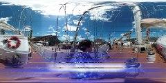 VR Visite de l'Eendracht goélette à trois-mâts lors de l'Armada 2019 à Rouen