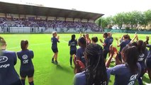 Equipe de France Féminine : voyage et installation au Havre I FFF 2019