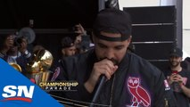 Drake Promotes Love And Togetherness At Raptors NBA Championship Parade