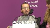 """Podemos agradece a Ruiz-Huerta su """"elegancia"""" al dimitir"""