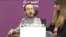 La Ejecutiva nacional de Podemos, sorprendida por la dimisión de Ruiz-Huerta
