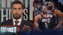 'The Chris Paul and James Harden tension is real' - Nick Wright