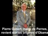 Barack Obama, Pernois ? Le maire Pierre Gabert raconte