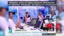 """Les acteurs Frédéric Chau et Medi Sadoun dénoncent les propos """"racistes"""" de Nicolas Canteloup"""
