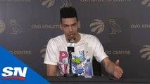 Raptors' Danny Green Season-Ending Press Conference