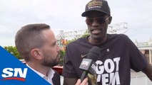 Pascal Siakam Discusses The Toronto Raptors' Wild Fan Base At NBA Championship Parade