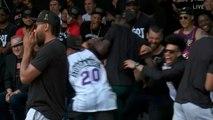 Raptors reaction after Kawhi Leonard ran back his FUN GUY laugh