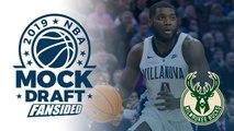 2019 NBA Mock Draft - Bucks select Eric Paschall with No. 30 Pick
