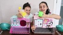 Kutudan Ne Çıkacak Çöplük Slime Challenge  LOL Kutusundan Ne Çıkarsa Slaym  Bidünya Oyuncak