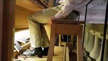 Orange : Luc Antonini teste les 2 800 tuyaux du nouvel orgue