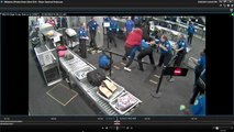 Surveillance video shows tense moment as man rushes TSA officers at Sky Harbor
