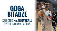 Pacers select Goga Bitadze in 2019 NBA Draft