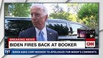 Joe Biden Claps Back Against Cory Booker