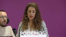 Podemos descarta negociar con Iñigo Errejón en Madrid y esperan que abandone su escaño