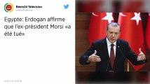 Égypte. L'ancien président Morsi «a été tué», affirme Erdogan