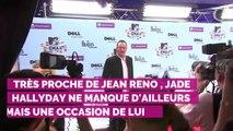 """PHOTO. Le joli message de Jade Hallyday à Jean Reno : """"Je suis bénie d'avoir un parrain comme toi"""""""