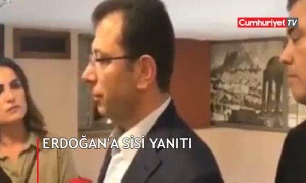 İmamoğlu'ndan Erdoğan'a 'Sisi' yanıtı