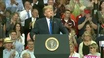 Trump humilla en público a la presunta víctima de abusos de su candidato al Supremo