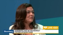 Facebook's Sandberg Says Libra Coin Is 'Long Way From Launch'