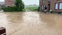 Inondation rue Saint-Hilaire