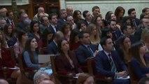 El Rey entrega los despachos a nuevos jueces en Madrid por la tensión independentista