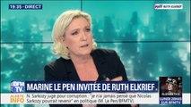 """Marine Le Pen dénonce """"le procès d'intention permanent qu'on fait"""" à Donald Trump"""