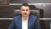 Bakan Pakdemirli: 'Selde hayatını kaybedenlerin sayısı 7'ye çıktı, kayıp 3 kişiyi arama çalışmaları devam ediyor'