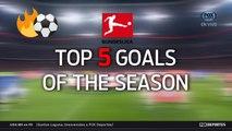 Exclusivo: Los mejores 5 goles de la temporada en la Bundesliga