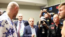 'I'LL GET YOU A FIGHT' - TYSON FURY SHOW CLASS, MAKES OFFER TO TOM SCHWARZ, & DISCUSS THEIR FIGHT