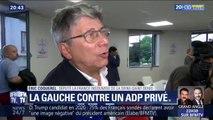 PCF, LFI, PS, LR... L'opposition en meeting contre la privatisation d'ADP