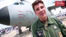 VIDEO. Le Bourget : embarquement à bord de l'Airbus A400M