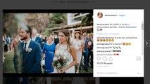 Almudena Navalón desvela cómo fue Carrasco vestido de novio