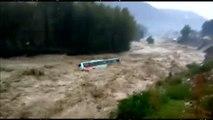 Las lluvias monzónicas provocan graves inundaciones en la India