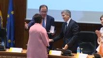 Marlaska entrega la medalla de oro a Mercedes Gallizo