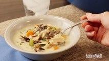 How to Make Cream of Turkey & Wild Rice Soup