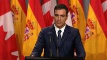 """Sánchez asegura que el Gobierno se propone """"dejar la vía judicial"""" en Cataluña"""