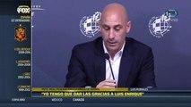 Futbol: Luis Enrique deja a la Selección Española