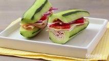How to Make a Cucumber Turkey Sub