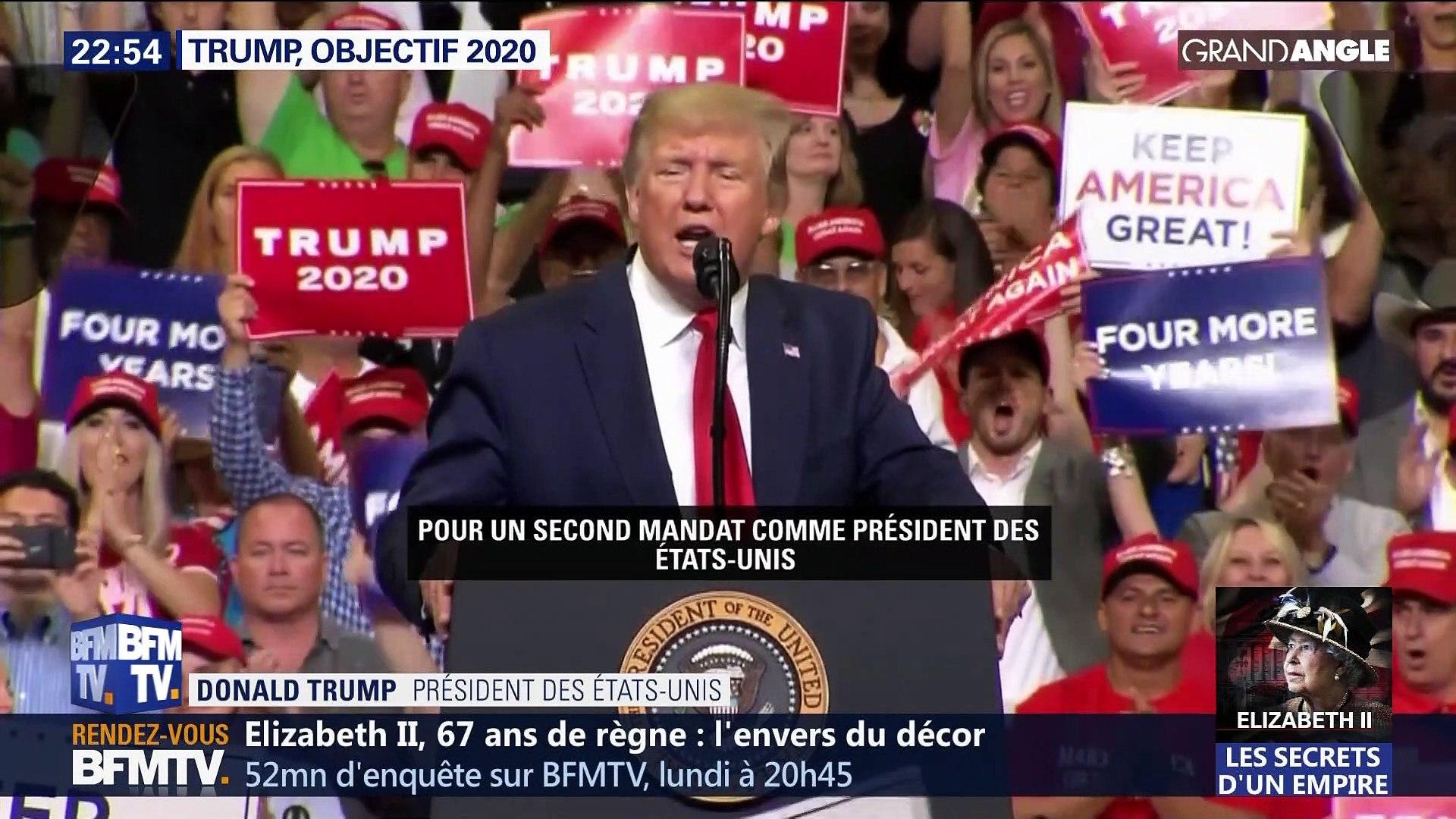 Donald Trump, objectif 2020