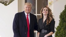 Hope Hicks refuses to answer questions about her time in the White House