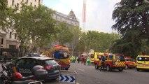 Emergencias trabaja en el rescate de los heridos del Ritz