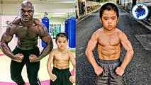 Strongest Kids In The World - Bruce Lee Kids Ryusei Imai