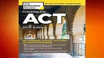 [Read] Cracking the ACT with 6 Practice Tests, 2019 Edition: 6 Practice Tests + Content Review +