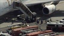 Caen enfermos 20 pasajeros de un vuelo en Nueva York procedentes de Dubai